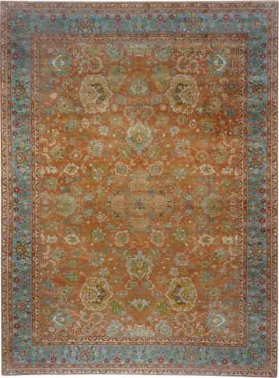 Contemporary version of an old Axminster carpet measuring 13 ft x 17 ft 6 in