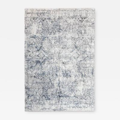 Contemporay Rug Abstract Design with Gray and Beige Colors 2 80 x 3 70 m
