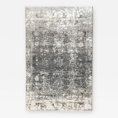 Contemporay Silk and Wool Rug Abstract Design 2 70 x 4 25 m