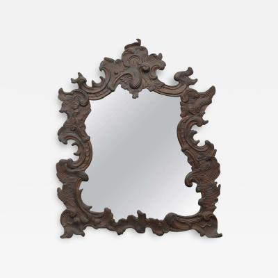 Continental Repouss Copper Wall Mirror
