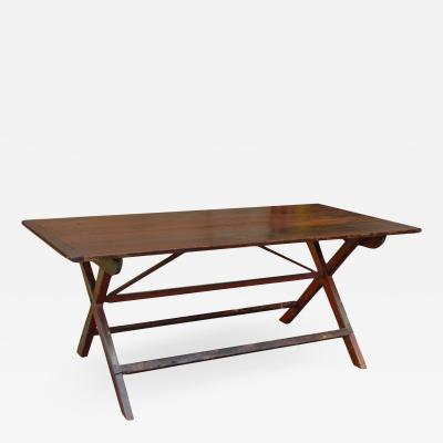 Continental Sawbuck Table