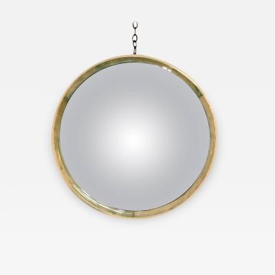 Convex Parchment and Bone Mirror