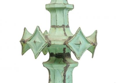 Copper Spire from the Woolworth Building by Architect Cass Gilbert USA 1913