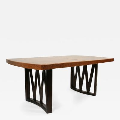 Cork Top Dining Table by Paul Frankl for Johnson Furniture Co