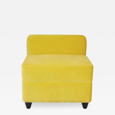 Corrado Corradi Dell Acqua Angolo Ottoman with Backrest by Corrado Corradi Dell Acqua