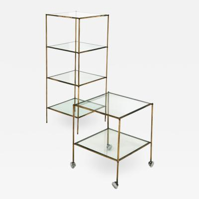 Corrado Corradi Dell Acqua Set of Side Tables by Corrado Corradi dellAcqua for Azucena Mod T 12 1950s