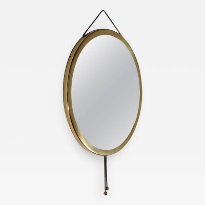 Corrado Corradi Dell Acqua Vipera Mirror for Azucena Italy 1960s