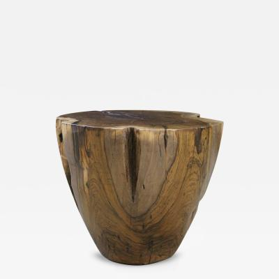 Costantini Design Francisco Carved Solid Rosewood Occasional Table Customizable