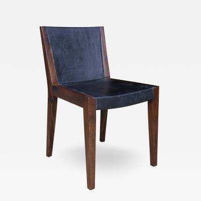 Costantini Design Giovanni Chair in Argentine Rosewood and Wrapped Leather