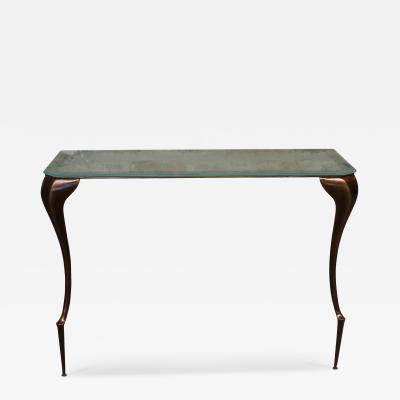 Costantini Design Lychorinda Cast Bronze Console Table Customizable
