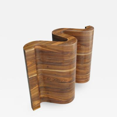 Costantini Design Nico Contemporary Console or Table Base in Argentine Rosewood