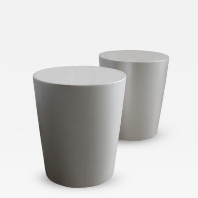 Costantini Design Tromonto Lacquered Conical Side Table Customizable