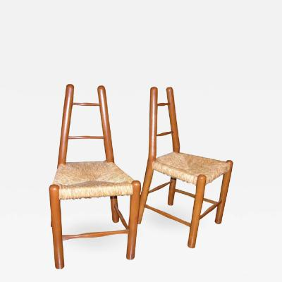 Country Chair in the Style of Charlotte Perriand