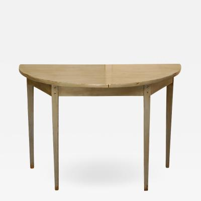 Country Demi Lune Table