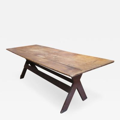 Country Sawbuck Dining Table