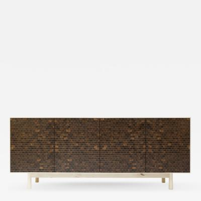 Credenza Prototype Handcrafted from Exotic Woods