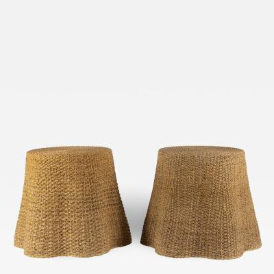 Crespi Style Vintage Rope Tables
