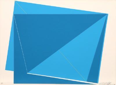 Cris Cristofaro Blue Rectangles