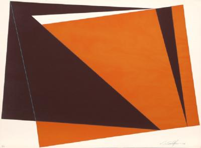 Cris Cristofaro Orange Rectangles
