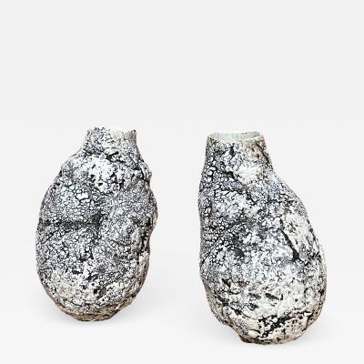 Cristina Salusti Pair of ceramic vases