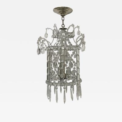Crystal Pagoda Shaped Lantern