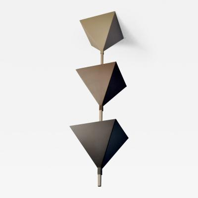 Cubistic Ceiling Lamp Zurich 1980s