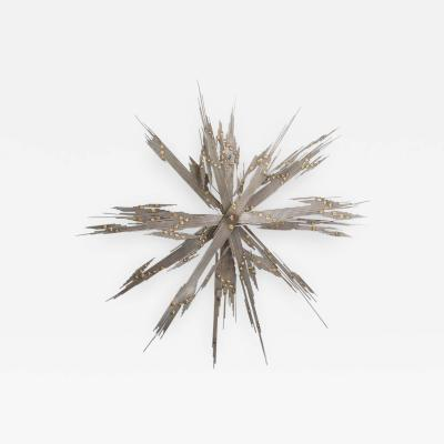 Curtis Jer American Modern Abstract Star Motif Wall Art Curtis Jere 1970s