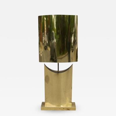 Curtis Jer Beautiful Brass Lamp by Curtis Jere