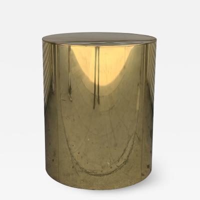 Curtis Jer Brass Pedestal Base by Curtis Jere