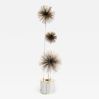 Curtis Jer Curtis Jere Mid Century Pom Urchin Lighted Floor Sculpture