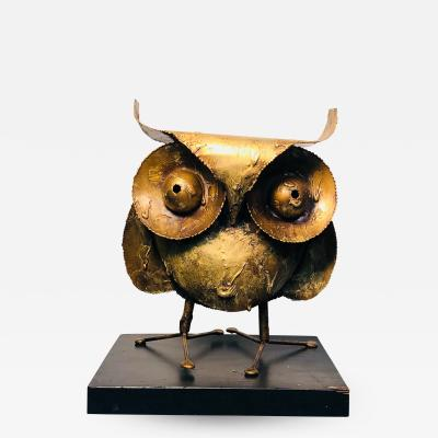 Curtis Jer Curtis Jere Owl Sculpture