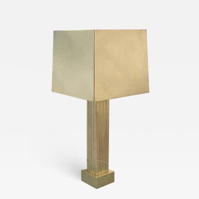 Curtis Jer Huge Table Lamp Attributed to Curtis Jere