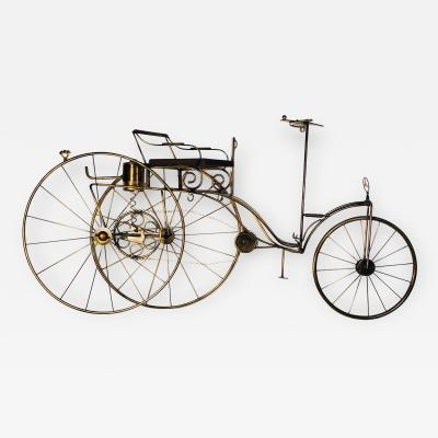 Curtis Jer Large Scale Curtis Jere Bicycle Wall Sculpture