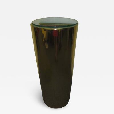 Curtis Jer Outstanding C c Tall Brass Pedestal Light Up MId century Modern