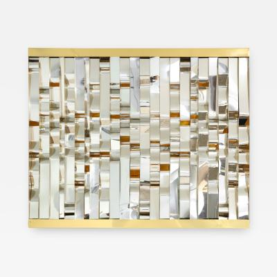 Curtis Jer Sculptural Wall Panel by Curtis Jere