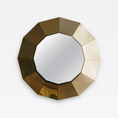 Curtis Jere 12 Sided Mirror by Jere