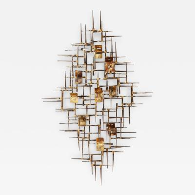 Curtis Jere A Contemporary Curtis Jere Style Wall Sculpture