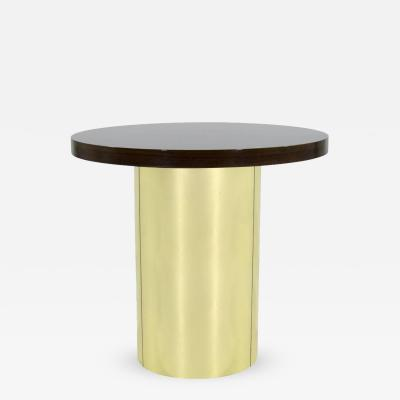 Curtis Jere Brass Pedestal by Curtis Jere