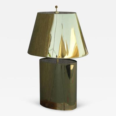 Curtis Jere Brass Table Lamp Attributed to Curtis Jere