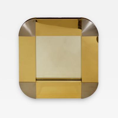 Curtis Jere Curtis Jere Brass Steel Mirror