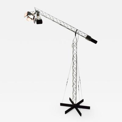 Curtis Jere Curtis Jere Crane Floor Lamp