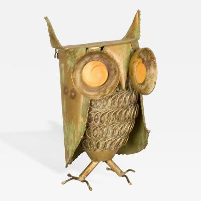 Curtis Jere Curtis Jere Inspired Owl Sculpture