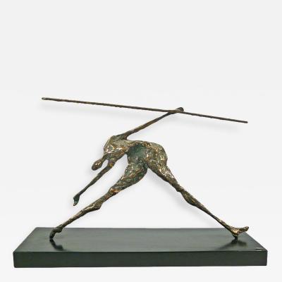 Curtis Jere Jere Bronze Figural Sculpture