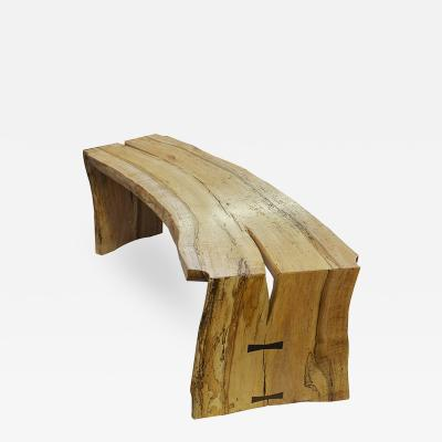 Curved Bench by David Ebner