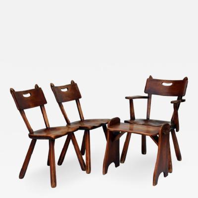 Cushman Colonial Furniture Rare Set of Cushman Colonial Creations Seating