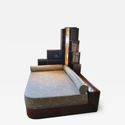 Custom Art Deco Day Bed Designed After George Gershwins Apartment Day Bed