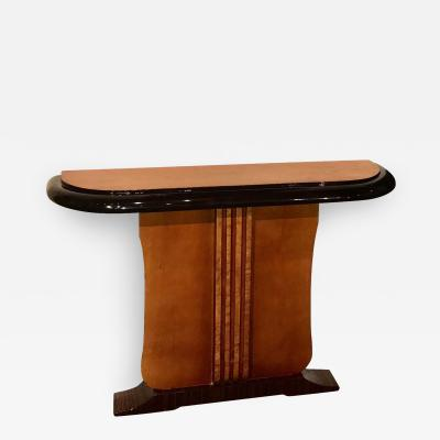 Custom Art Deco Two tone French Style Console