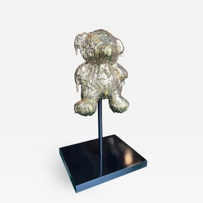 Custom Bronze Sculpture Teddy Bear Per Sempre by Mattia Biagi 2015