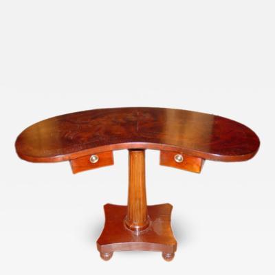 Custom Kidney Shaped Desk Table