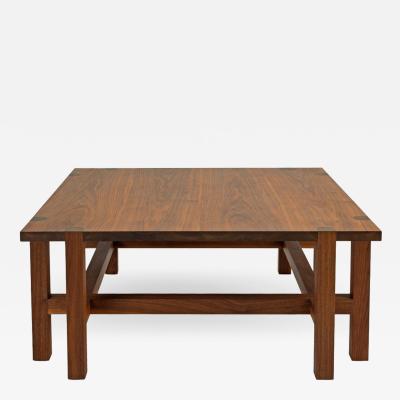 Custom Made Black Walnut Coffee Table